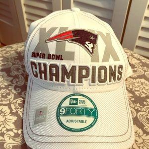 New England Patriots Super Bowl Champs hat